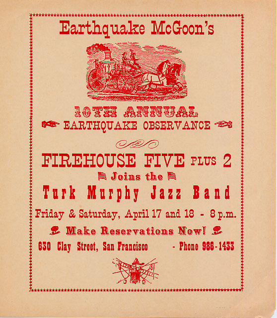 Earthquake McGoon's Flyer