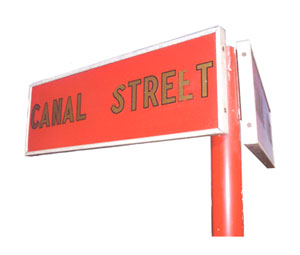 Canal St. Sign